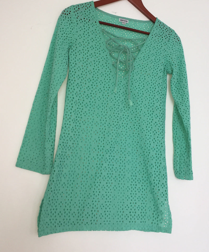MINT GREEN COVER-UP