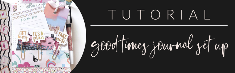 VB Tutorial: Good Times Journal Set Up