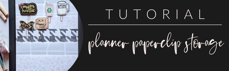 VB Tutorial: Planner Paperclip Storage