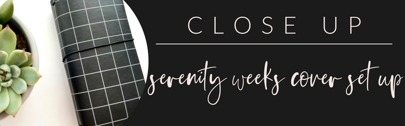 VB Close Up: Serenity Weeks Cover Set Up