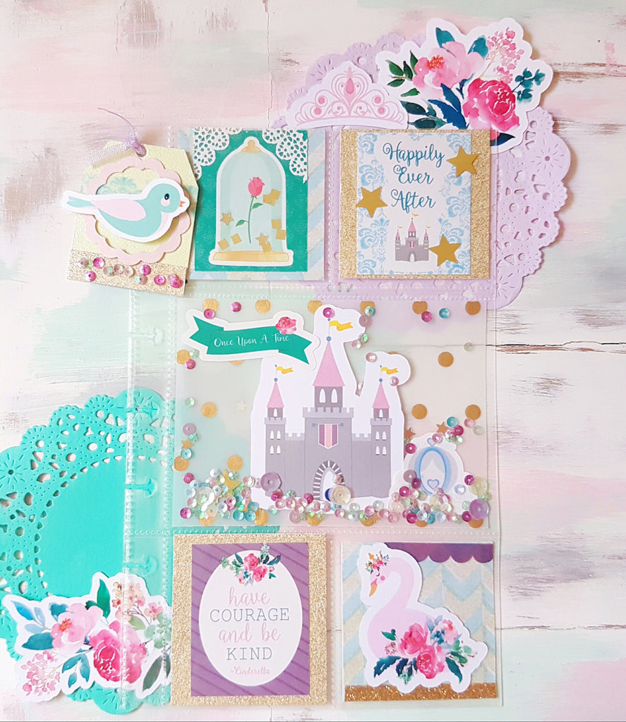 plan with me using the ever after decorating kit with chinky and