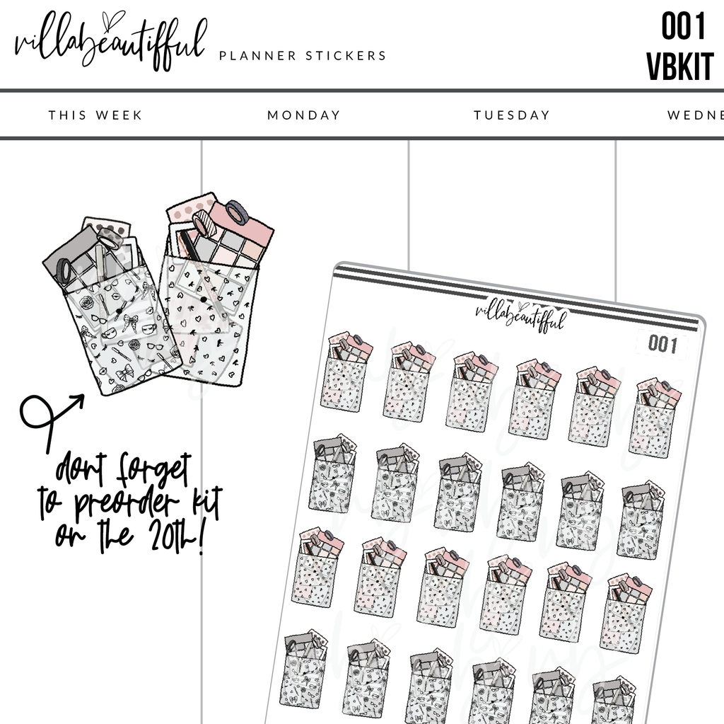 001 VBKit Planner Sticker Sheet
