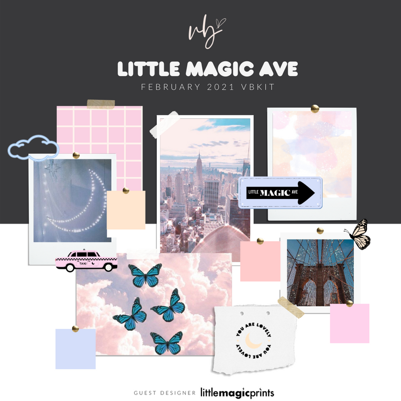 "Villabeautifful ""Little Magic Ave"" Basic Kit + Paper PREORDER"