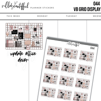 044 VB Grid Display Sticker Sheet