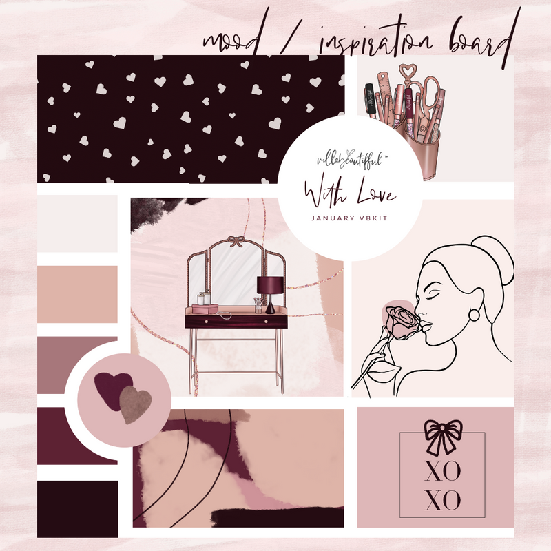 "Villabeautifful ""With Love"" Basic Kit"