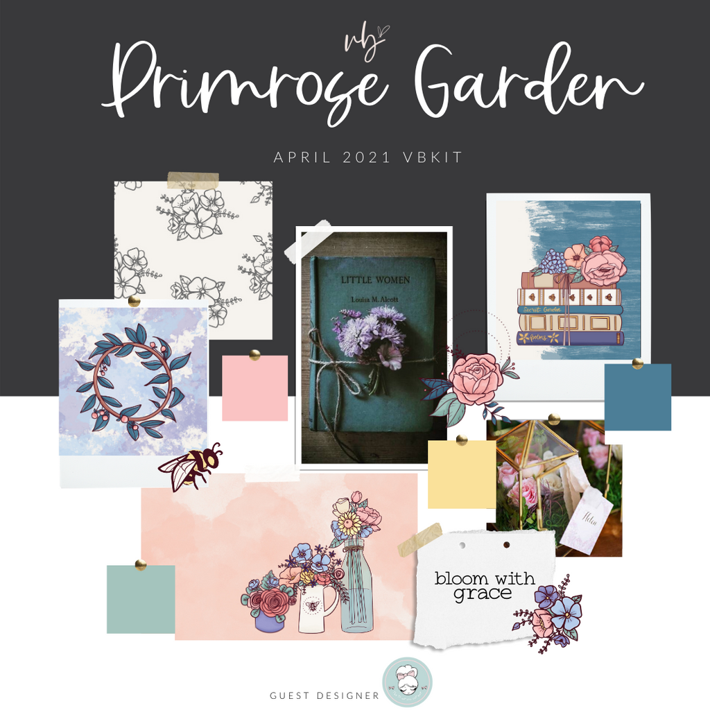 "Villabeautifful ""Primrose Garden"" Basic Kit PREORDER"