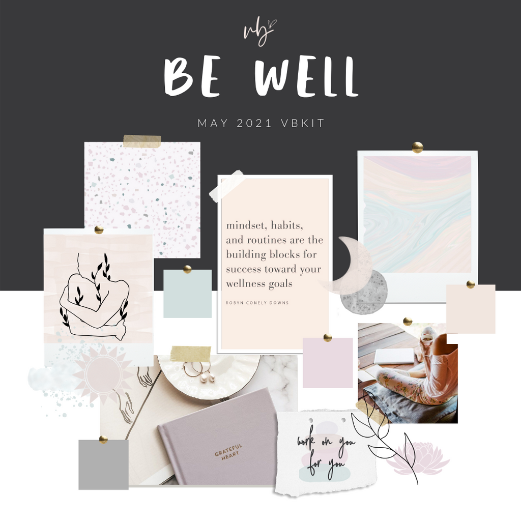 "Villabeautifful ""Be Well"" Basic Kit + Paper PREORDER"