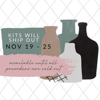 "Villabeautifful ""Merry Minimalist"" Advent Calendar Basic Kit  PREORDER"