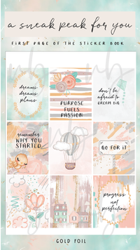 "Villabeautifful ""Dream Big"" Basic Kit + Paper Pack PREORDER"