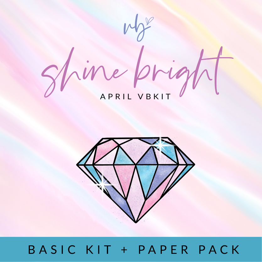 "Villabeautifful ""Shine Bright"" Basic Kit + Paper Pack PREORDER"
