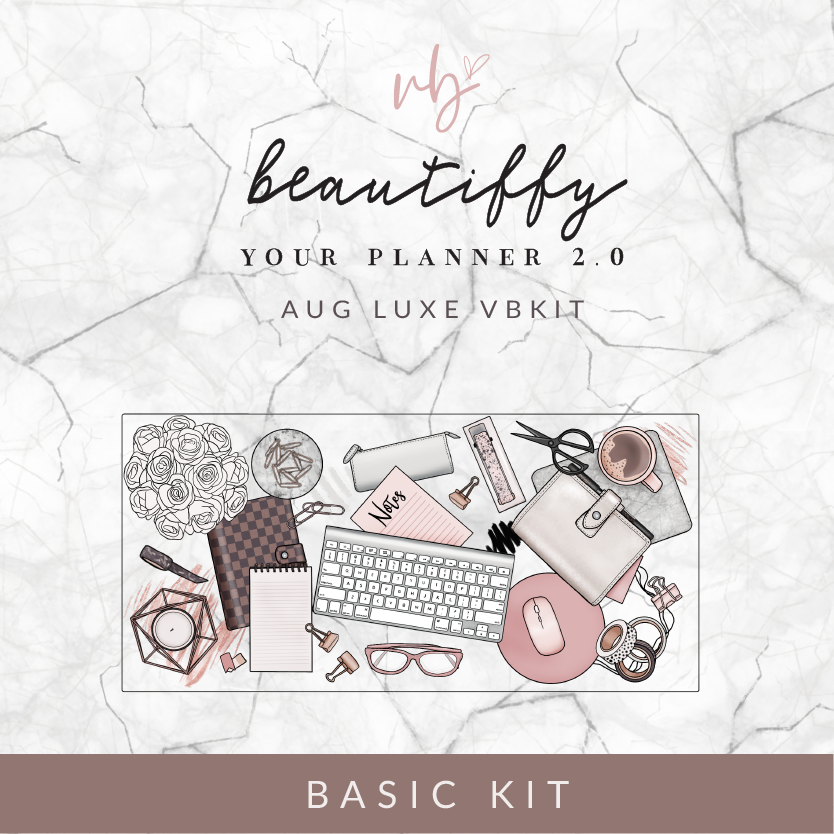 "Villabeautifful ""Beautiffy Your Planner 2.0"" Basic Kit PREORDER"