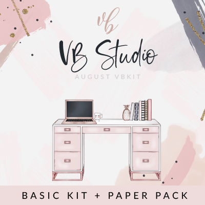 "Villabeautifful ""VB Studio"" Basic Kit + Paper Pack"