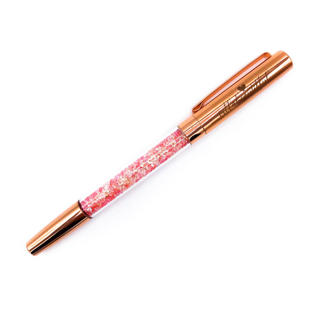 Beautiffy Your Planner Rose Gold Crystal VBPen | limited