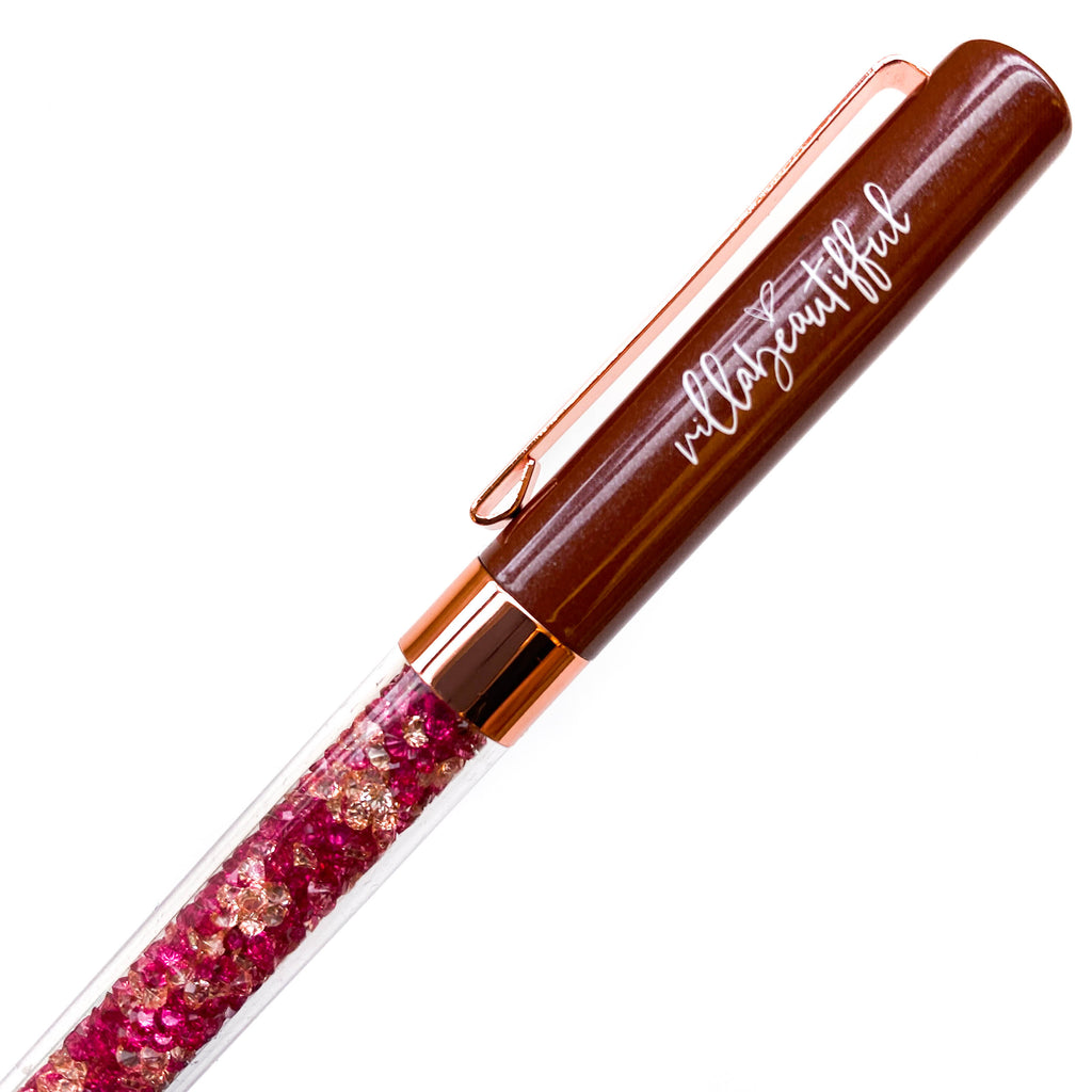 Brown Sugar Crystal VBPen | limited pen
