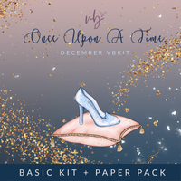 "Villabeautifful ""Once Upon A Time"" Basic Kit + Paper Pack PREORDER"