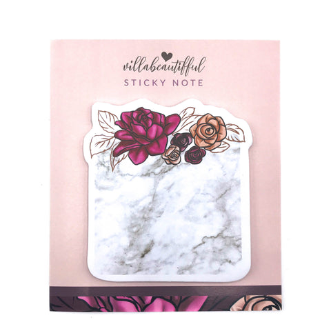 La Vie en Rose Sticky Note