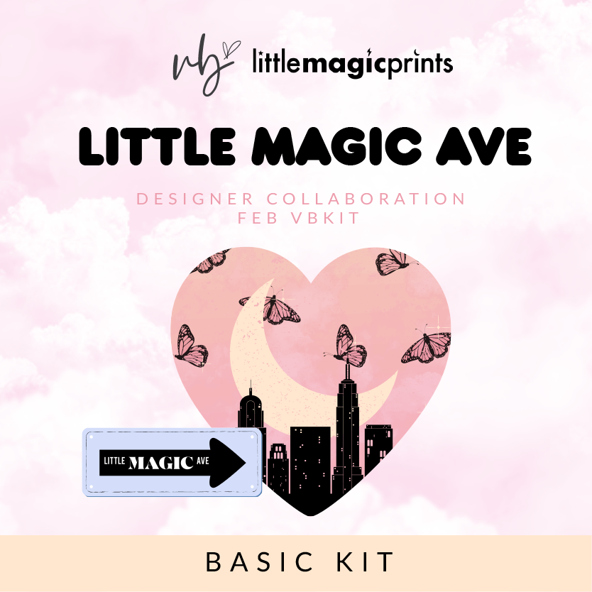 "Villabeautifful ""Little Magic Ave"" Basic Kit"