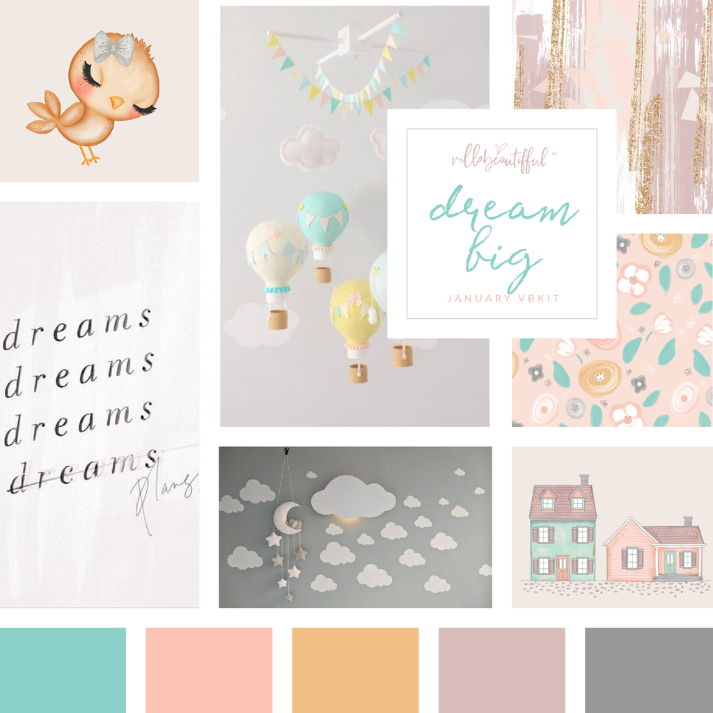 "Villabeautifful ""Dream Big"" Basic Kit PREORDER"