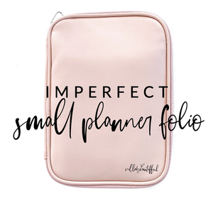 Imperfect VB Mini Planner Folio