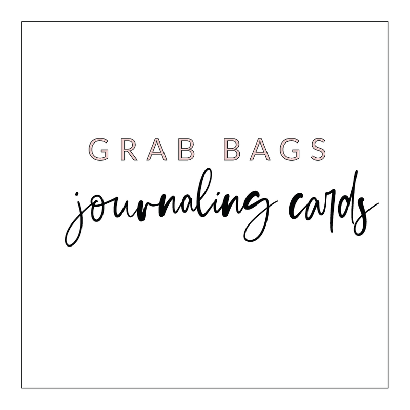 VB Journal Card Pack Grab Bags