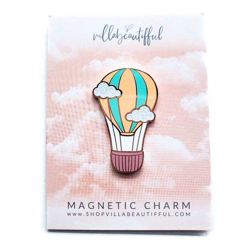 Hot Air Balloon Magnetic Charm