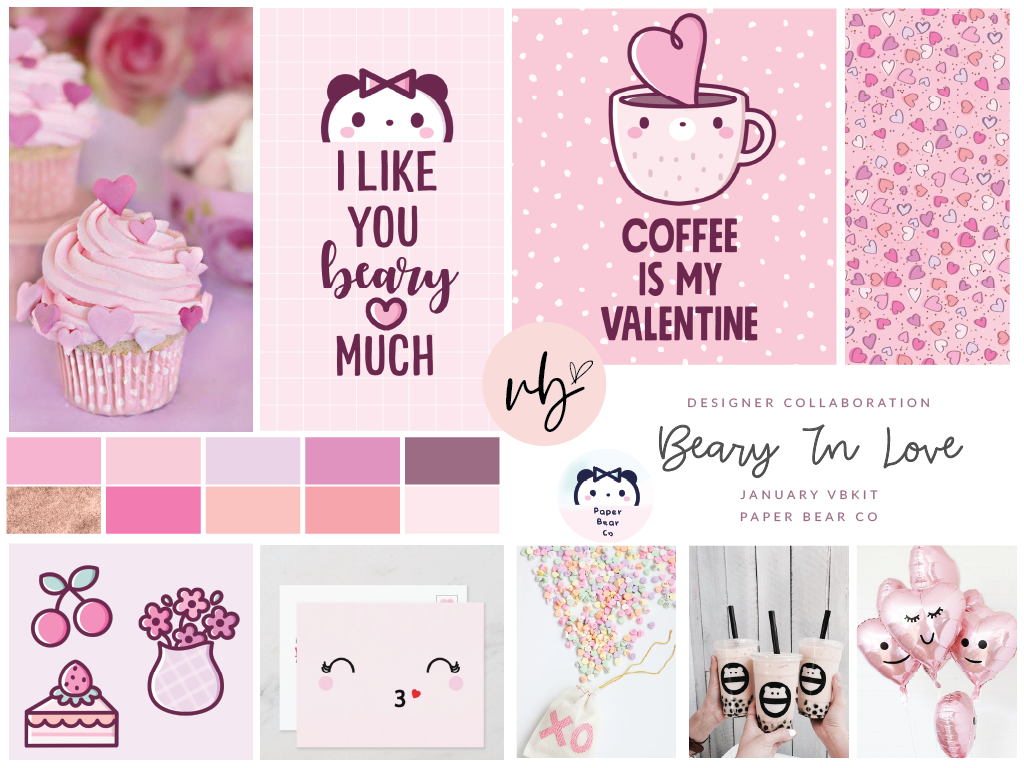 "Villabeautifful ""Beary In Love"" Basic Kit PREORDER"