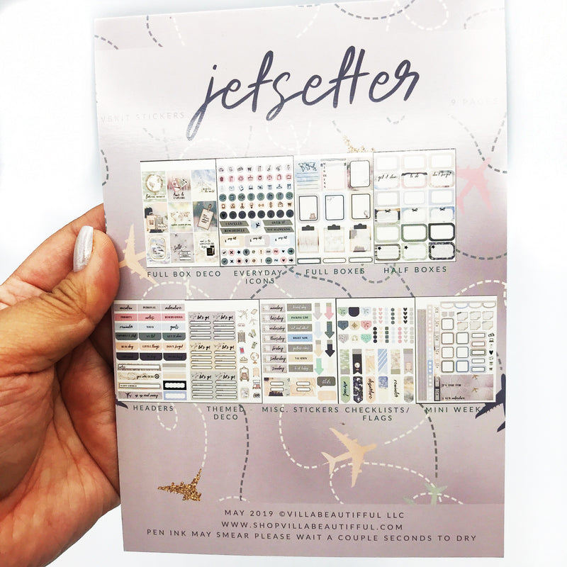 Jetsetter VB Sticker Book