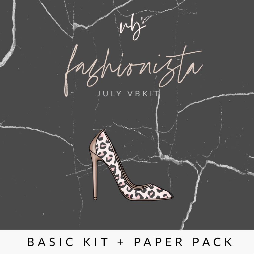 "Villabeautifful ""Fashionista"" Basic Kit + Paper Pack"