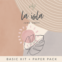 "Villabeautifful ""La isla"" Basic Kit + Paper Pack"