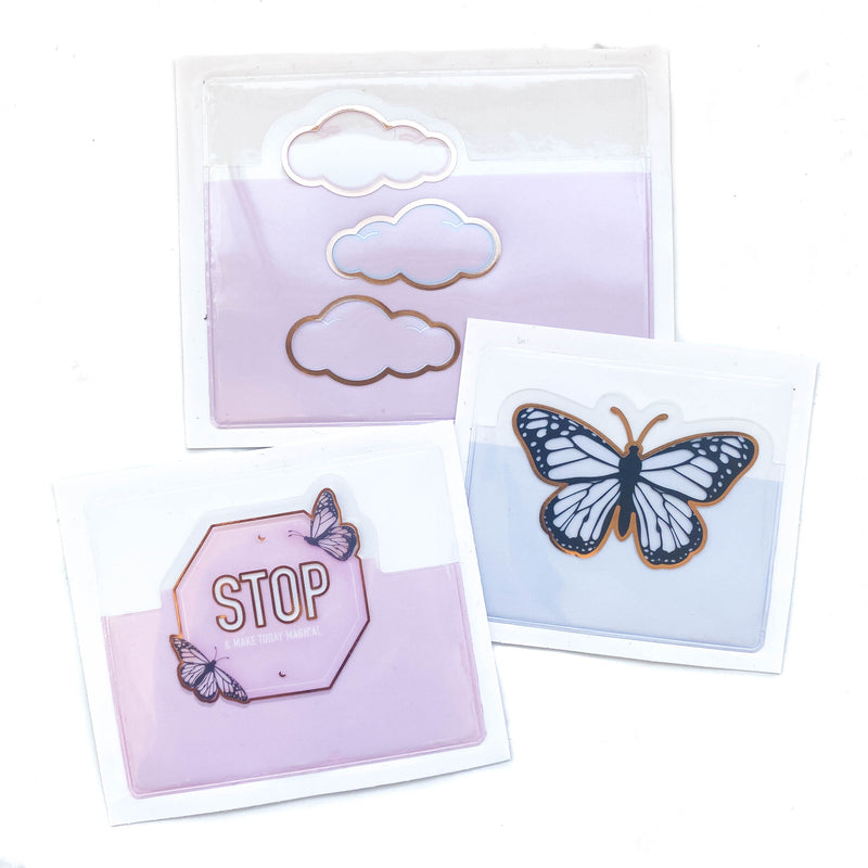 Little Magic Ave Adhesive Pockets