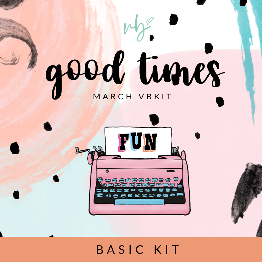 "Villabeautifful ""Good Times"" Basic Kit"