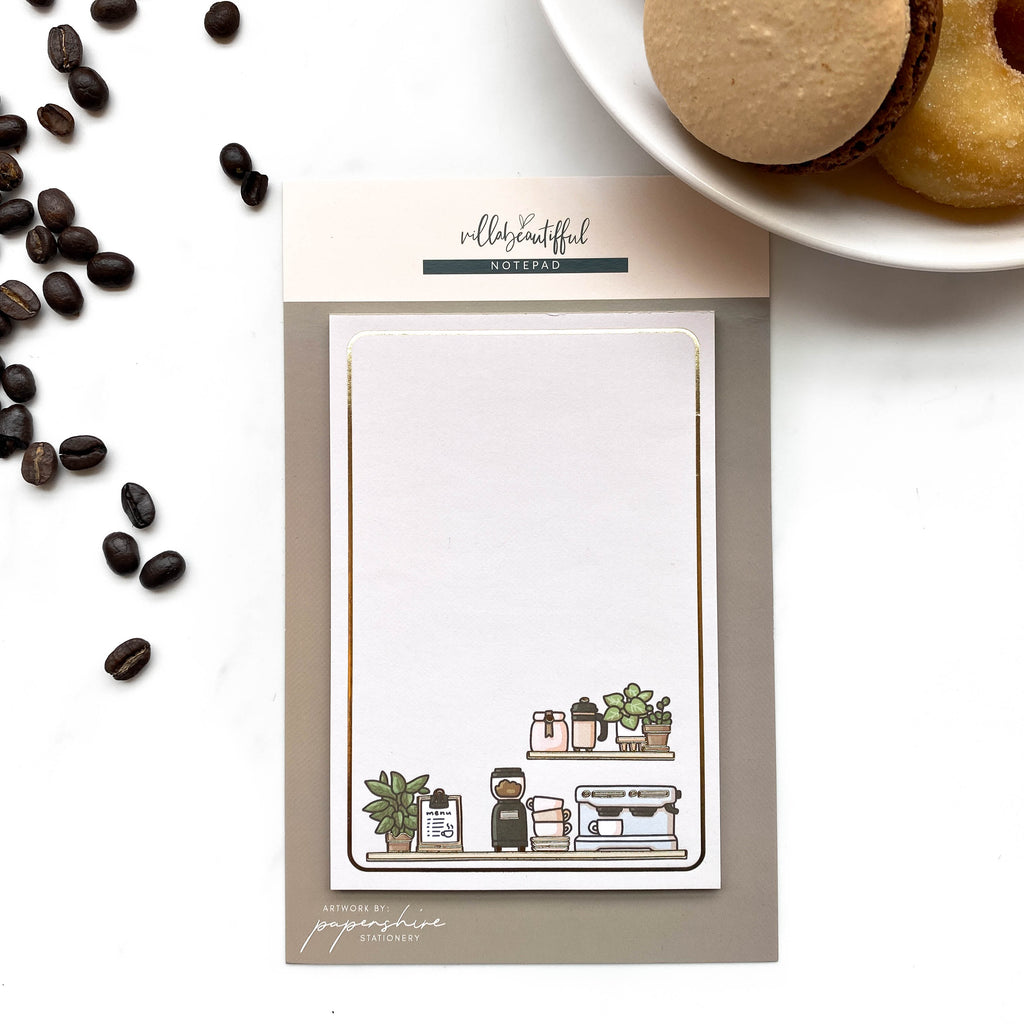 Cafe Papershire Notepad
