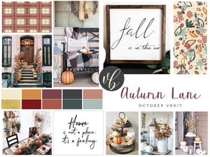 "Villabeautifful ""Autumn Lane"" Basic Kit"