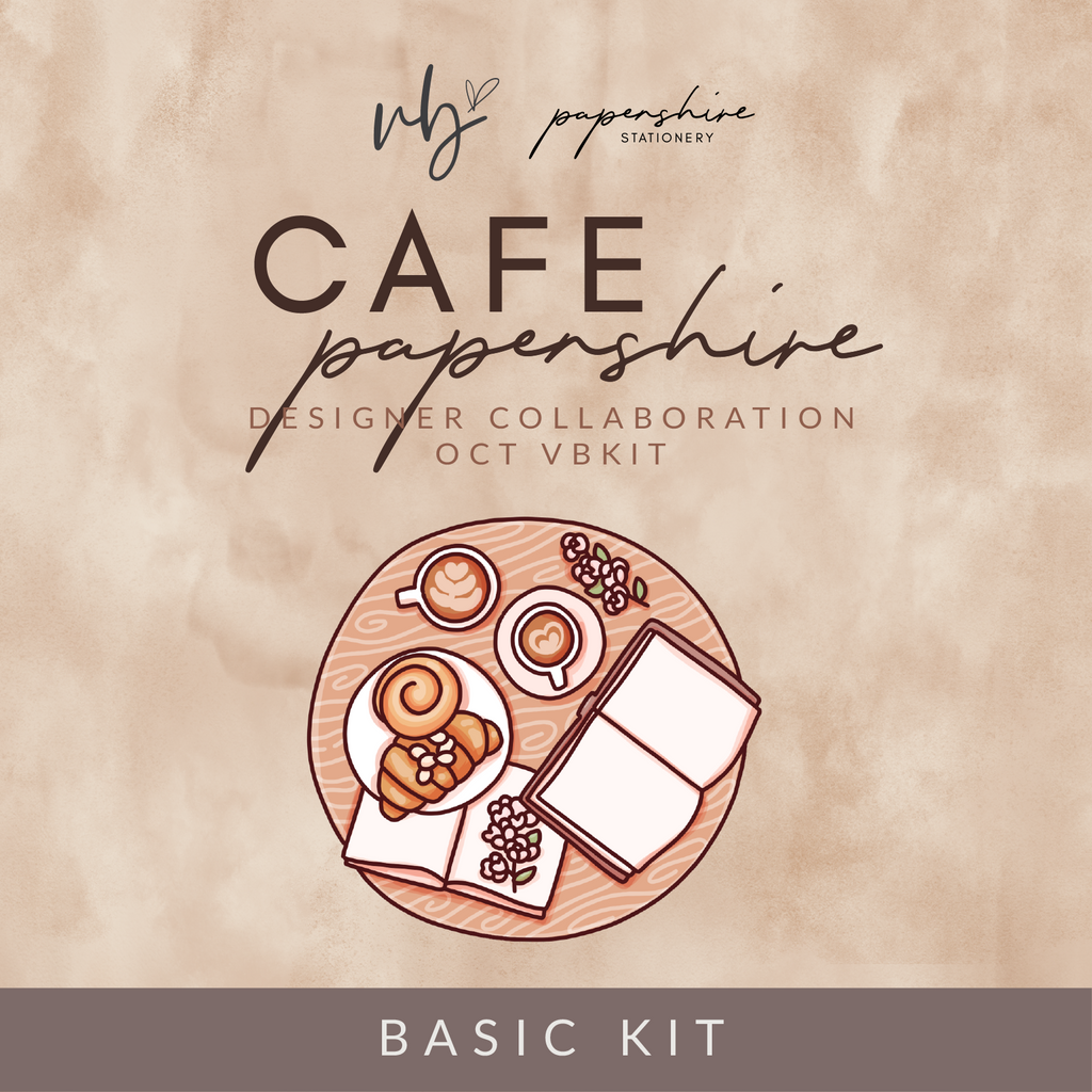 "Villabeautifful ""Cafe Papershire"" Basic Kit PREORDER"