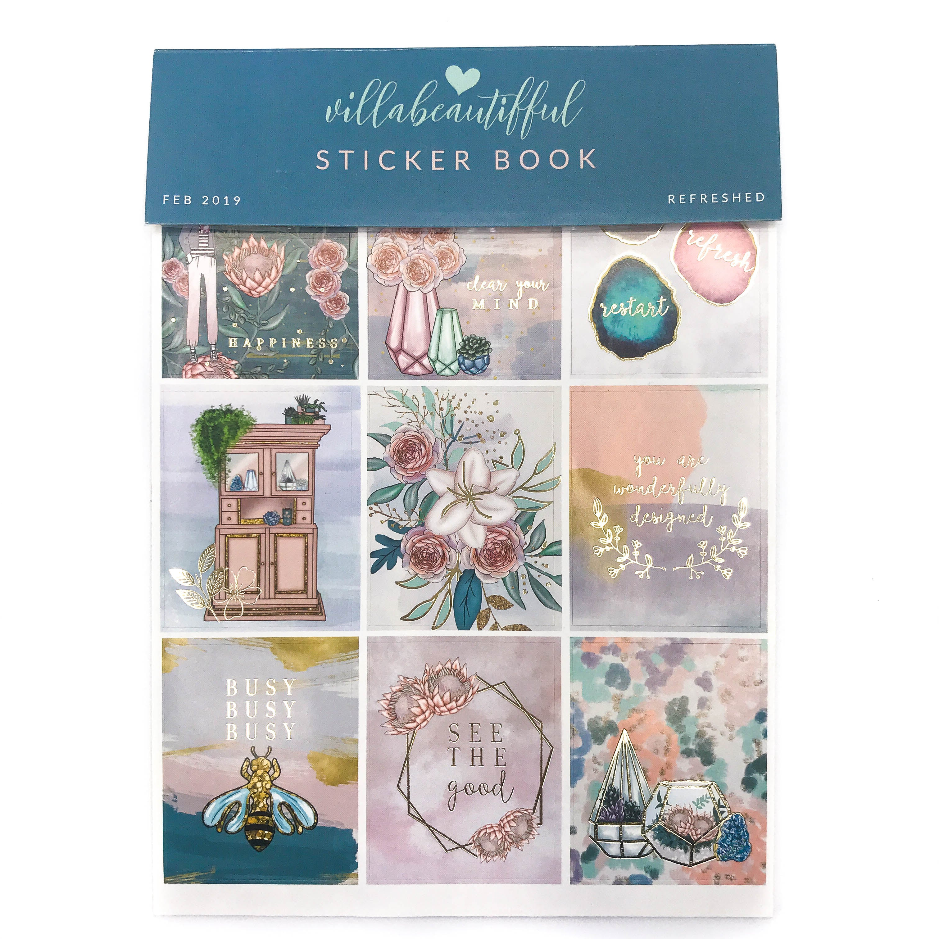 Refreshed VB Sticker Book