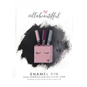 Hello Beautifful VB Pens Enamel Pin
