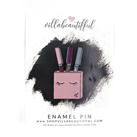 Hello Beautifful VBPens Enamel Pin