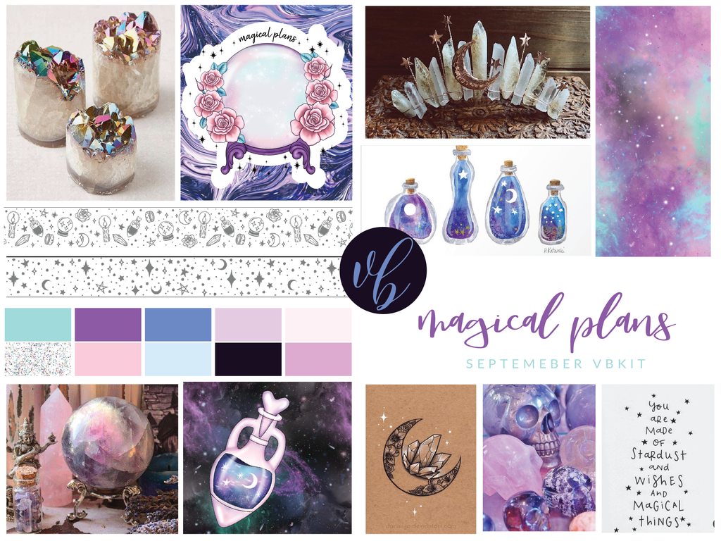 "Villabeautifful ""Magical Plans"" Basic Kit + Paper Pack"