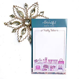 Pretty Little Things Foiled Notepad