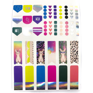 Wild At Heart VB Sticker Book