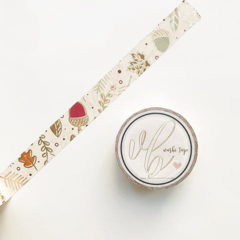 VB Acorn Washi Tape
