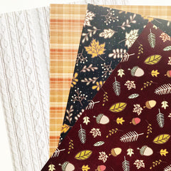 Oct Warm & Cozy Paper