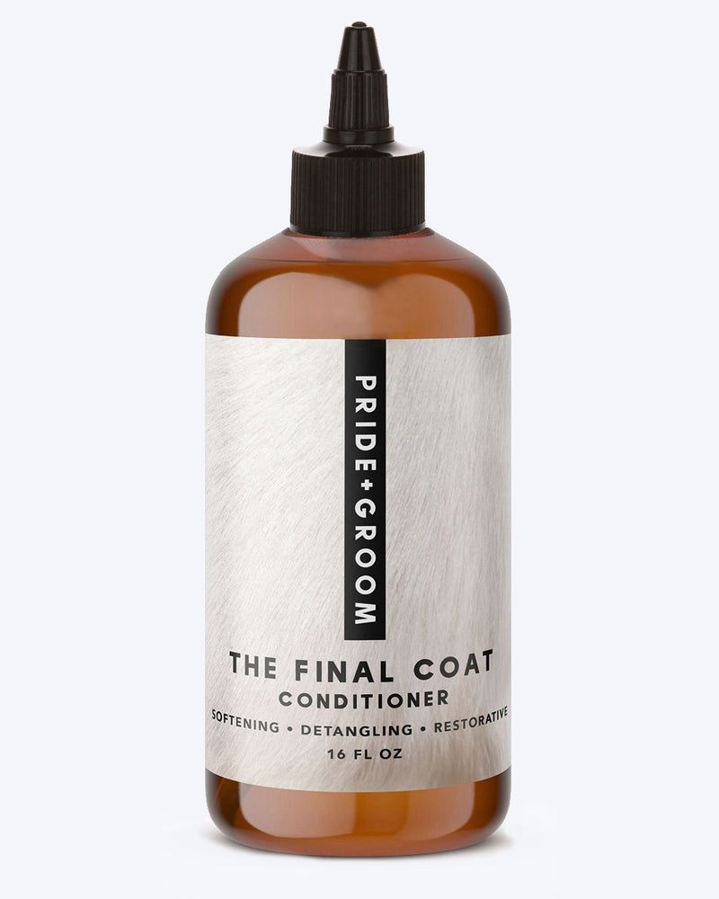 Pride and Groom The Final Coat Conditioner Pet Product Dog Puppy Clean
