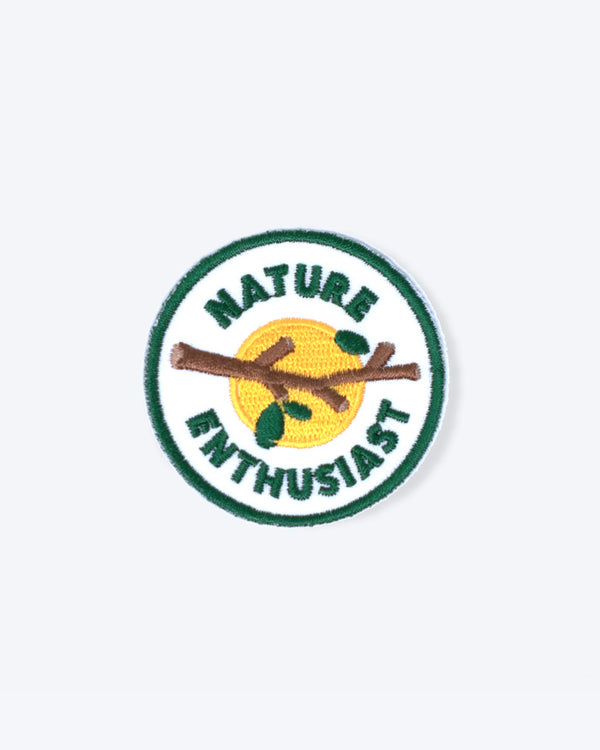 SCOUTS HONOUR ADVENTURE BADGES - Nature Enthusiast
