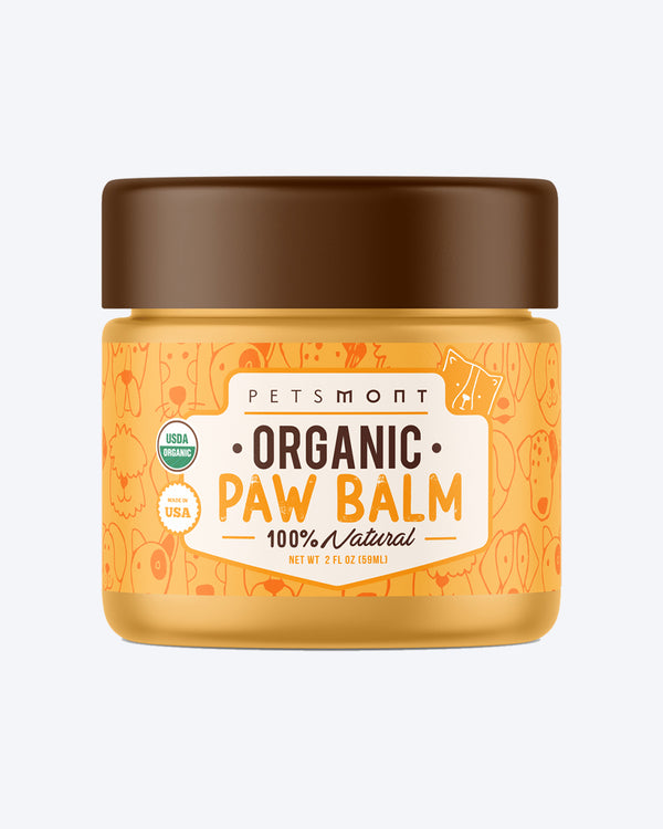 Petsmont Organic Palm Balm natural dog paws walk