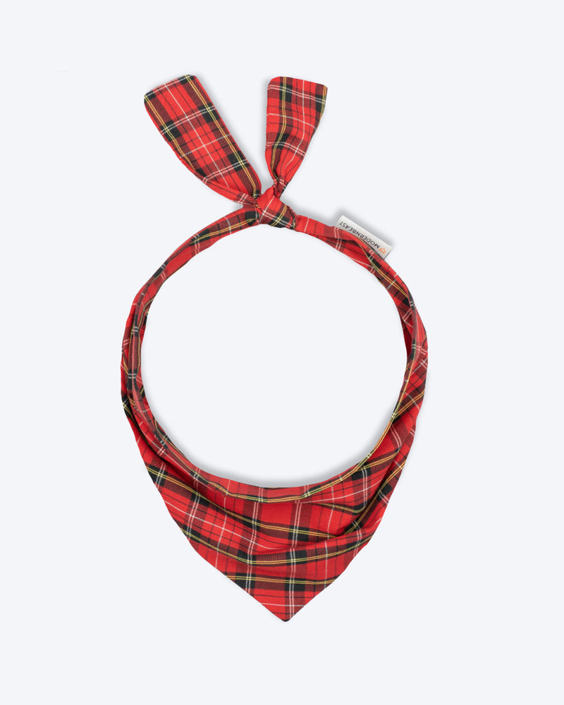 Red Plaid #cf252e