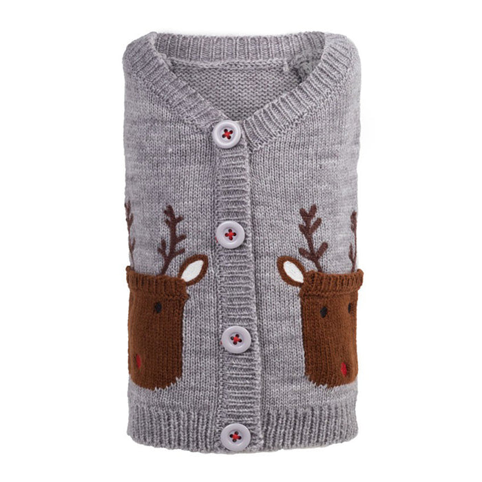 RUDOLPH the Reindeer Cardigan