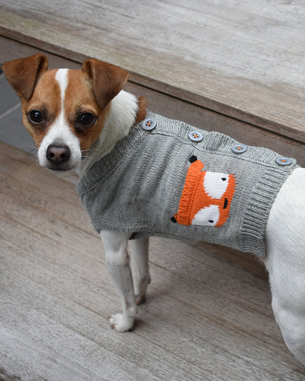 Fox Cardigan by Worthy Dog