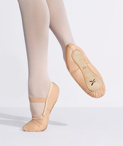"Capezio Leather ""Clara""  Ballet Slippers (Full-Sole)"