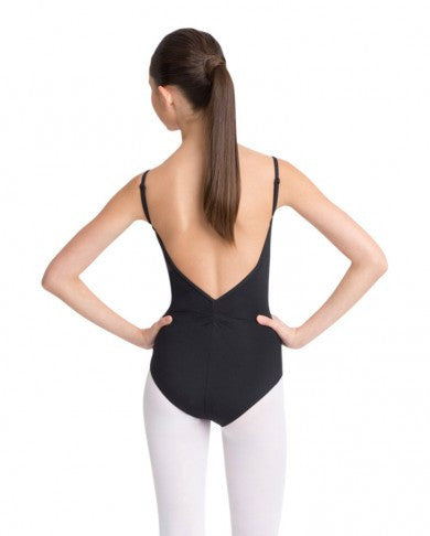 Adjustable Camisole Leotard with Pinch Front [Adult]